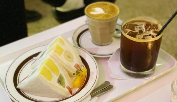 文化社 분카샤 : フルーツサンドを楽しみに、隠れ家的カフェに行く♪