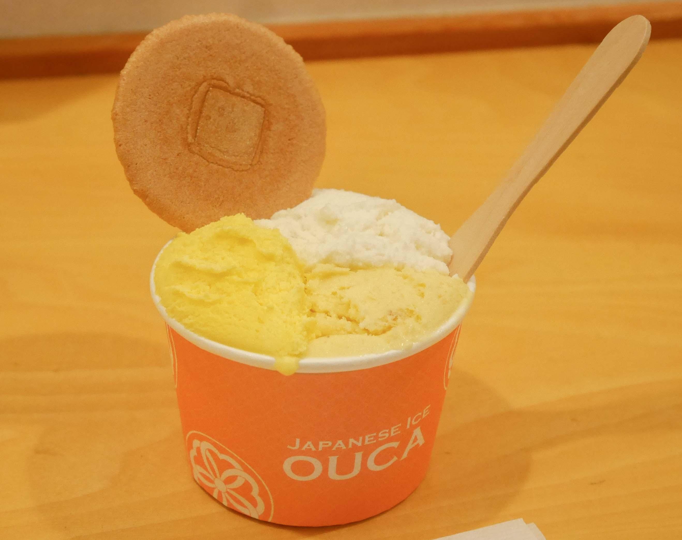 素材の美味しさダイレクト!恵比寿・OUCAのアイスクリーム